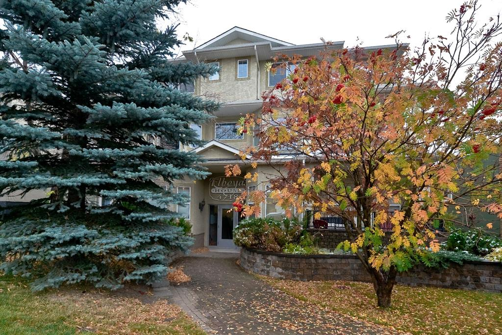Welcome home to one of Calgary's most popular communities! Close to all the amenities while still being tucked away on a quiet, tree lined street. Enjoy walks to Stanley Park and soak in the atmosphere of Elbow River only minutes away. Chinook mall and LRT service nearby as well with Downtown being only a short drive. This complete 2 bedroom/2 full bath condo features everything you need without the huge price tag. Featuring almost 1000sqft of livable space, you?ll be instantly impressed by the Open Concept living with an abundance of Sunlight and 9 ft Ceilings. Prepare meals in your Spacious Kitchen with Center Island while enjoying the Large Living room with a Corner Fireplace. The master bedroom includes it?s own Full Ensuite Bathroom alongside the Large Walk-In Closet. Huge unobstructed patio is perfect for BBQs and enjoying the morning sunrise. Unit also includes In-Suite Laundry with lots of Storage. Parking includes one heated underground stall as well as visitor parking. Lots of street parking is easily accessible. Act fast, these units don?t last long!