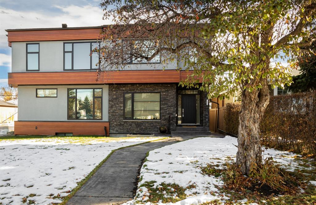 A beautifully finished transitional/contemporary infill home offers 1,787+  sqft of quality & craftsmanship. The open concept combined with over sized windows allow natural sunlight to flood the main level. The centrally located kitchen serves as the heart of the home where friends and family will gather. Other exceptional details in the kitchen include, full height maple cabinets with sleek crown moulding, upgraded hardware, beautiful granite counters and commercial grade appliances. The warm tone of rich wood details are evident, from the railings to the millwork and exotic acacia hardwood floors. Combine that with the full height natural stone feature wall surrounding the fireplace making for an absolutely stunning space. The main level also hosts a back mudroom, main floor office and powder room. Moving upstairs a large skylight fills the stair and hall with natural light leading to 3 generous bedrooms and a 2nd floor laundry room. The luxurious 5pc en-suite off the spacious master includes a soaker tub and walks into the large master closet with custom millwork. The fully developed Basement has large rec space with a wet bar, a 4th bedroom, full bath and extra storage. The drywalled garage has 14? high ceilings to accommodate hoisted vehicles. Situated on a quaint street in the charming community of Highland Park this home is a must see!