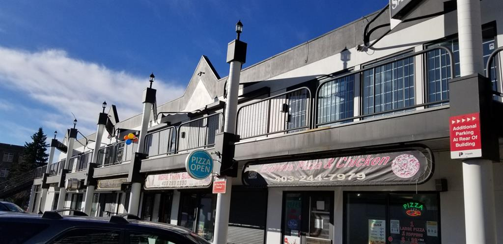 Popular location on 17 AVE SW. This premium location is across from the Western Canada High School.  This unit is located on the second floor and is MOVE- IN- READY.  Spaces available are 685-1397 sq.ft.  Currently Operating Cost includes all utilities, Property Tax and all Exterior Maintenances.