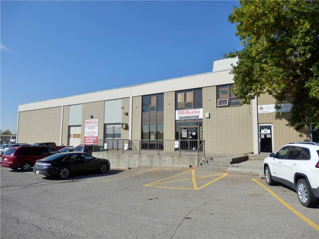 21,163 Square Feet, comprised of 1,596 Sq.Ft. of main floor showroom that can be converted to office space, 18,297 Sq.Ft. of warehouse space, 753 Sq.Ft. of second floor office space and 517 Sq.Ft. of mezzanine storage. Approximately 2 ACRES OF PRIVATE, PAVED, FENCED YARD STORAGE. Warehouse features 2 dock loading bays and 2 drive in bays and a sump. Located in Meridian, easy access to main routes of Barlow Trail, Deerfoot Trail and Trans Canada Highway.
