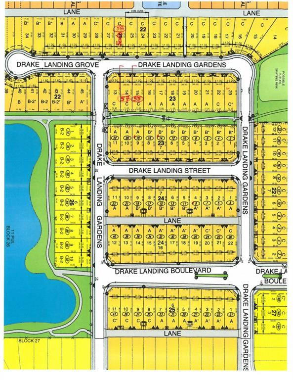 Backing onto green belt with pathway leading to walk around the pond, this lot is available to purchase and ready to build on later.  Opportunity to Purchase this lot and build with builder of your choice. This lot is 36' wide and has extended depth to 122 feet that allows nice yard size or structure of bungalow. Realtors - see members remarks.