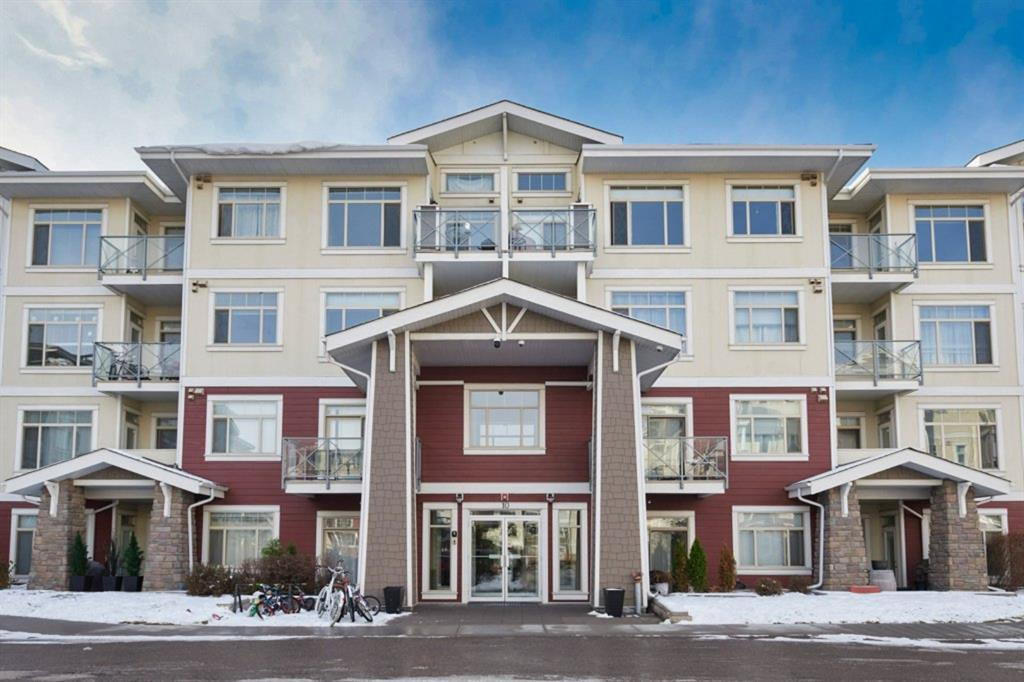 Amazing VALUE for this BEAUTIFUL and IMMACULATE TOP floor condo. Located in Auburn Bay ~one of Calgary?s BEST LAKE COMMUNITIES. This UPGRADED 2 bedroom plus DEN unit features a BRIGHT and OPEN layout. The spacious kitchen comes complete with birch cabinets, QUARTZ countertops, STAINLESS STEEL appliances and a breakfast bar next to the dining room. The living room comes complete with a patio door that leads to your own BALCONY. The large master bedroom has a full EN-SUITE walk-in closet and can accommodate a king size bed. The 2nd bedroom is also a spacious with 9ft ceilings. There is also HEATED UNDERGROUND PARKING and additional STORAGE and bike storage. Walking distance to the LAKE, shopping, the South Campus HOSPITAL and more!