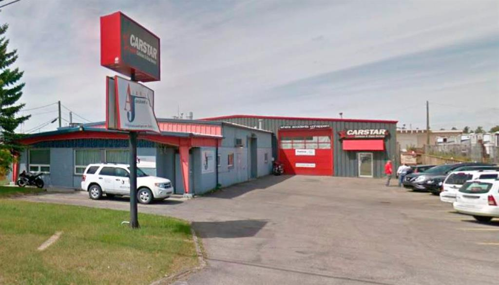 """There is 7600  sq. ft. leased in the rear attached building occupied by Carstars. There is 3800 sq. ft. available to be leased in the front attached building. The annual cost is $13 per year per square foot equaling a monthly lease cost of $4117. The  operating costs are prorated.  The lease area  has  offices  in the front end and  a large drive in bay in the rear that can accommodate  a few vehicles  and or more if the two storage  areas were easily removed.  This building has a great location and can be  modified to your needs.  This area is owner occupied.  Easy to view """"by appointment only!"""""""