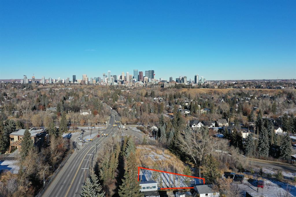 Build your dream home on an incredible inner-city lot with amazing views.  Perched upon the ridge above Britannia/Elboya off-leash park, this lot offers amazing views of the downtown skyline and mature trees lining Elbow Drive.  This inner-city residential area blends historic homes with modern architecture and offers some of Calgary's elite schools, parks, and pathways.  Nearby amenities include Britannia Plaza, Chinook Centre, Stanley Park, outdoor pool, tennis courts, skating rink, playgrounds, baseball diamonds, basketball courts, golf course,  and the Glencoe Club as well as numerous shopping, services, and dining options.