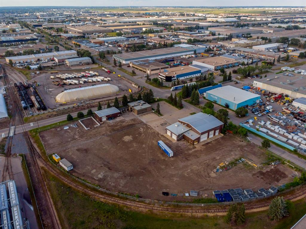 A unique opportunity located in the heart of Calgary?s Foothills Industrial Park.  The space available at 7719 - 40th Street SE consists of a total of 18,796 square feet on 3.0 +/- acres of land between 3 buildings.  Flexible options are available to lease all or a portion of the buildings and/or property to accommodate various user requirements. The largest building on site is a 9,524 square foot shop that features two drive thru loading bay with steel reinforced concrete slab, 10 TON crane, a pair of large automatic doors (24? x 20? and 16? x 20?), air make up ventilation system, air compressor, a hydraulic vehicle lift and a lubrication station.  Within this building is also a large wash bay with trench drains and a dedicated welding bay with the infrastructure for a 5 TON crane.  Within the shop is a lunchroom, bathroom, and some office space. There is also a stand alone two story office building at the front of the property consisting of 6,752 square feet complete with furnishings.  In addition, two portable office trailers are also available to occupy.  In close proximity to the offices is 2,510 square feet of clean warehouse space complete with a drive in door (14? x 12?), office, storage space and some mezzanine. The property is zone I-G (Industrial General)  The entire site is serviced by a 800 AMP power capacity.  Large paved parking area.  Excellent access to many of Calgary?s major business thouroughfares including Barlow Trail, Deerfoot Trail, Glenmore Trail and Stoney Trail.  Please call the listing agent to obtain more information or to arrange a tour.  More information can be found in the Brochure available to download on this listing page or through the QR code.