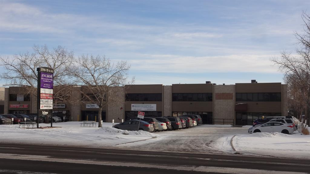 Office (1,590 sf)/Warehouse (1,658 sf)/Fenced Yard (2,205 sf)  facing 19th Street NE.  Office  is on the second floor and consists of 7 offices, and washrooms.   Warehouse has it's own office and washroom.  Additional Fenced Yard available. (2,205 sf)