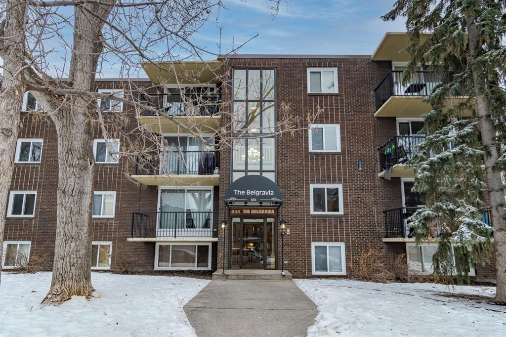 """Welcome to Unit 306 in """"The Belgravia"""" nestled in the conveniently located Inner City community of Windsor Park in Calgary, just a few blocks away from Chinook Mall and all the essential shopping along Macleod Trail that you'll ever require + with the LRT station, Calgary Golf Country Club within walking distance, along with the Glenmore Dam Off Leash Dog Park, the Elbow River close by and only a 10 minute commute into Downtown. This 1 Bedroom, 1 Bathroom condo makes for comfortable, affordable Innercity living and it includes a parking stall - Offered at an incredible price point for one looking to enter the real estate market or for an investor looking to make another addition to their investment portfolio. Call today for your private showing!"""