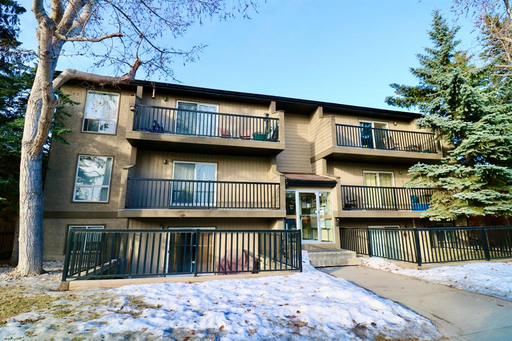 Welcome to an excellent one-bedroom and one-bathroom condo located in the Bowness community. Features of this 494.06 ft condo include laminate flooring, maple cabinets, window and trim and soaker tub with porcelain tile surround. This condo includes in-suite laundry hookups and machines. The kitchen appliances include a fridge, stove, dishwasher, and microwave.  This peaceful location is a few minutes away from the downtown, shopping centre and Bowness Park.  No smoking permitted inside the units and balconies.  Showings by appointment.