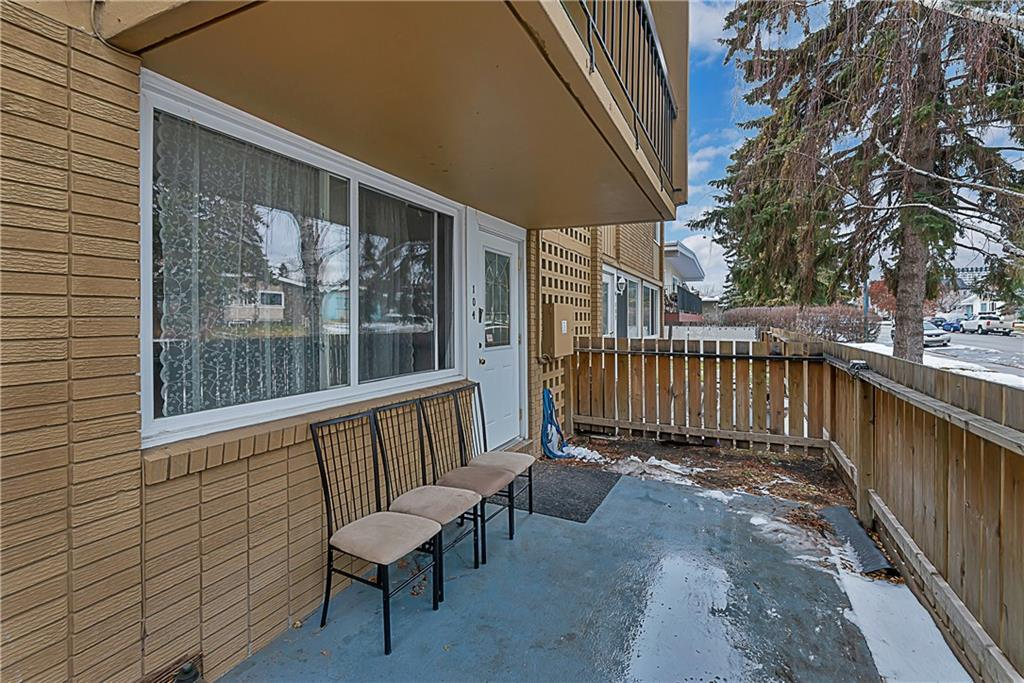 Whether you're looking for easy access to public transit, proximity to downtown, Chinook Mall, amenities along Macleod Tr & Elbow Dr, or quick access in & out of the city, this condo offers all that & more! With 3 BEDROOMS in 1067 square feet, a 420 square foot fenced in yard space, & a direct entrance to your unit, this pet friendly condo feels more like a little home than an apartment! St Augustine school & a playground are within a couple minutes walk! Inside there have been nice upgrades including brand new granite countertops in the kitchen & ensuite (including new sinks & faucets!), modern laminate flooring throughout & a remodelled main bath. The windows are newer & the building itself has been nicely maintained! This unit is nicely situated so it opens out onto 69th Avenue rather than the parking lot (which also offer additional parking & makes it really easy for your guests to park & find you!). Included are an assigned parking stall & a secured storage unit. This condo is perfect for a small family, as a revenue property, or for someone looking for a little extra space!