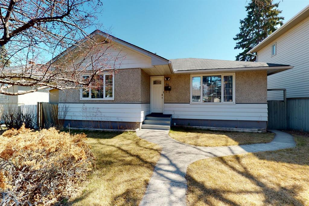 3D Virtual Tour! Fantastic updated and fully renovated bungalow with 2,065 sq.ft living space to enjoy available for your consideration! Located in Kingsland community mere minutes from Chinook Centre or 7minutes commute to Downtown. Don?t feel like driving then hike it 5 minutes to Heritage LRT train station. Features refinished hardwood flooring(2018) throughout on the main, Central Air Conditioning, Large fenced in Yard, Mature trees, Double insulated garage, Newer plastic windows, Asphalt Shingles, Newer High Efficiency Furnace(2015), Newer Hot Water Tank(2015) and a Mother-in-law suite(illegal) in the basement with its own kitchen and two bedrooms. Newer laminating flooring (2012) in the basement. Very well designed to allow for separate laundry room and entry. Great revenue potential! List of upgrades by the Seller; New High Efficiency Furnace, Hot Water Tank, Humidifier-Furnace, Refinished hardwood flooring, New Laminate Flooring in basement, White Appliances. Basement suite is a illegal suite.  Click the virtual tour for more detail!