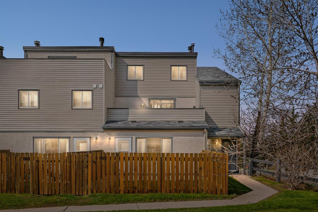 A great investment property, these units are in constant demand as rentals for medical personnel and students. Current tenants in place until July 31, 2022.   Directly across from Foothills Hospital and the new Cancer Centre, and close to U of C and SAIT, this freshly painted 2 bedroom unit with in suite laundry and private fenced yard offers a  centrally located, pet friendly home. With a covered assigned parking spot AND lots  of free visitor's parking, this well managed, well maintained  complex also has a healthy reserve fund.