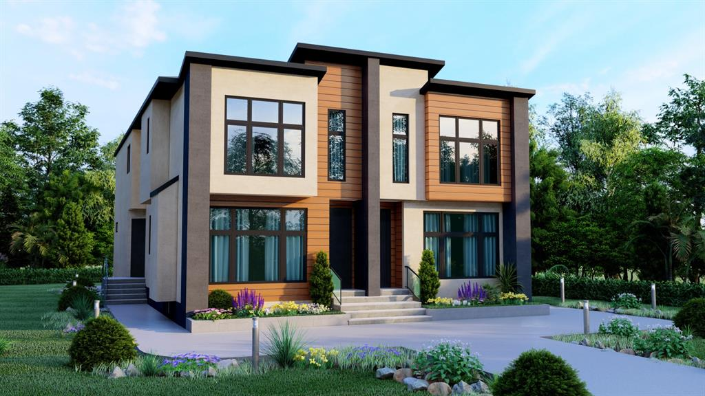 Live luxurious & Live affordable with a stunning 4plex project coming near you situated on one of Calgary's most desirable communities Montgomery. A one of a kind community just steps away from Edworthy Park, Bow River, Market mall, University & Children's Hospital. Construction has started with offering 1,100 SQFT ABOVE GRADE. Countless high-end finishes to choose from making it your dream home. 2 upper bedroom en-suites, basement rec room with wet bar, premium stainless steel appliance package and much more! A total of 3 BEDROOMS & 3 1/2 BATHROOMS. Estimated completion Summer 2021. INNER CITY SALES CENTER NOW OPEN -
