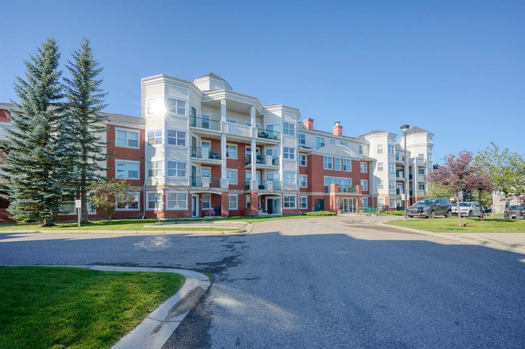 Amazing VALUE for this BEAUTIFUL and IMMACULATE 2 bedroom unit in a desirable complex in Mckenzie Towne. This BRIGHT and CHEERY condo has plenty of windows and 9 ft ceilings allowing for plenty of natural light to flow through. This well-designed unit features a spacious kitchen and a large dinning area. Gorgeous, exotic Guajuvira engineered hardwood floors.  There is a patio door off the living that leads to your BALCONY that OVERLOOKS the PARK and where you can sit and relax . The living room has a cozy FIREPLACE. There is also a Large storage room, a full bathroom and INSUITE Laundry. This condo comes with an UNDERGROUND titled stall.  Only a block away you'll find groceries, banks, a gym, gas station, restaurants, pubs, cafes, shopping, boutiques and more! Close to South Campus Hospital, Fish Creek Park. Minutes to Deerfoot Tr and Stoney Tr allowing easy access to downtown or the airport.