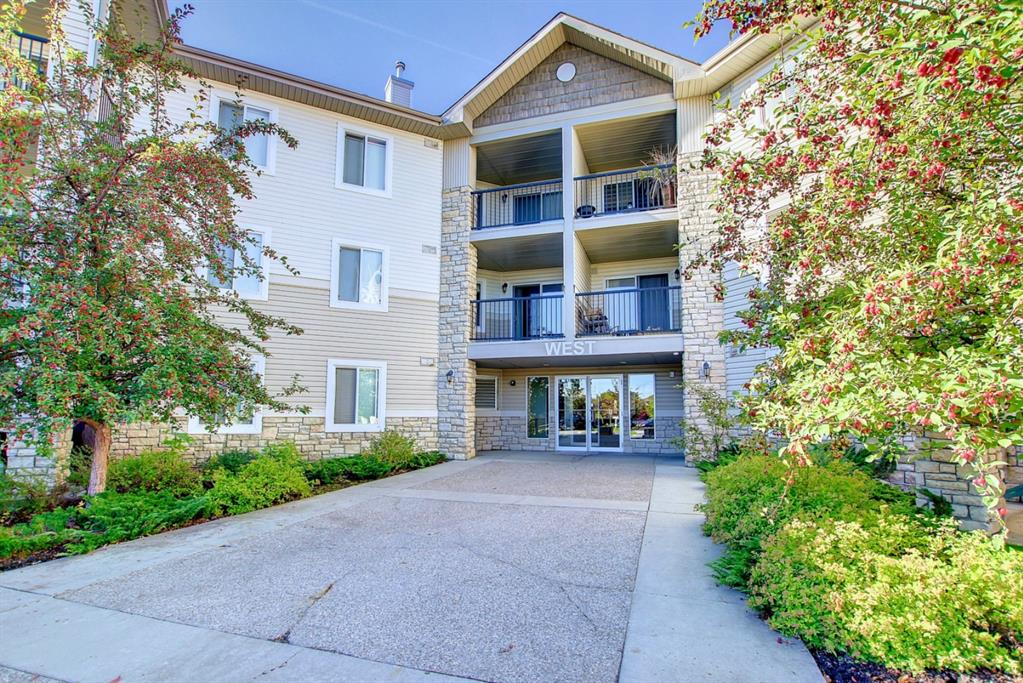 This well-planned unit is spacious and it offers a bright kitchen, sizeable living room, bedroom, and handy den/office.  A relaxing balcony off the living room is a perfect place to unwind at the end of the day.  The unit comes with 2 parking stalls. One parking stall is located a few steps away from the side entrance to the building. The second stall is underground and comes with a large private secure storage room. The complex is exceptionally located meters to the bus stop with a short ride to the last C-Train station. The quiet, picturesque neighbourhood is ideal for leisurely evening strolls.  The condo fees include all utilities. Don't miss out book your viewing today!