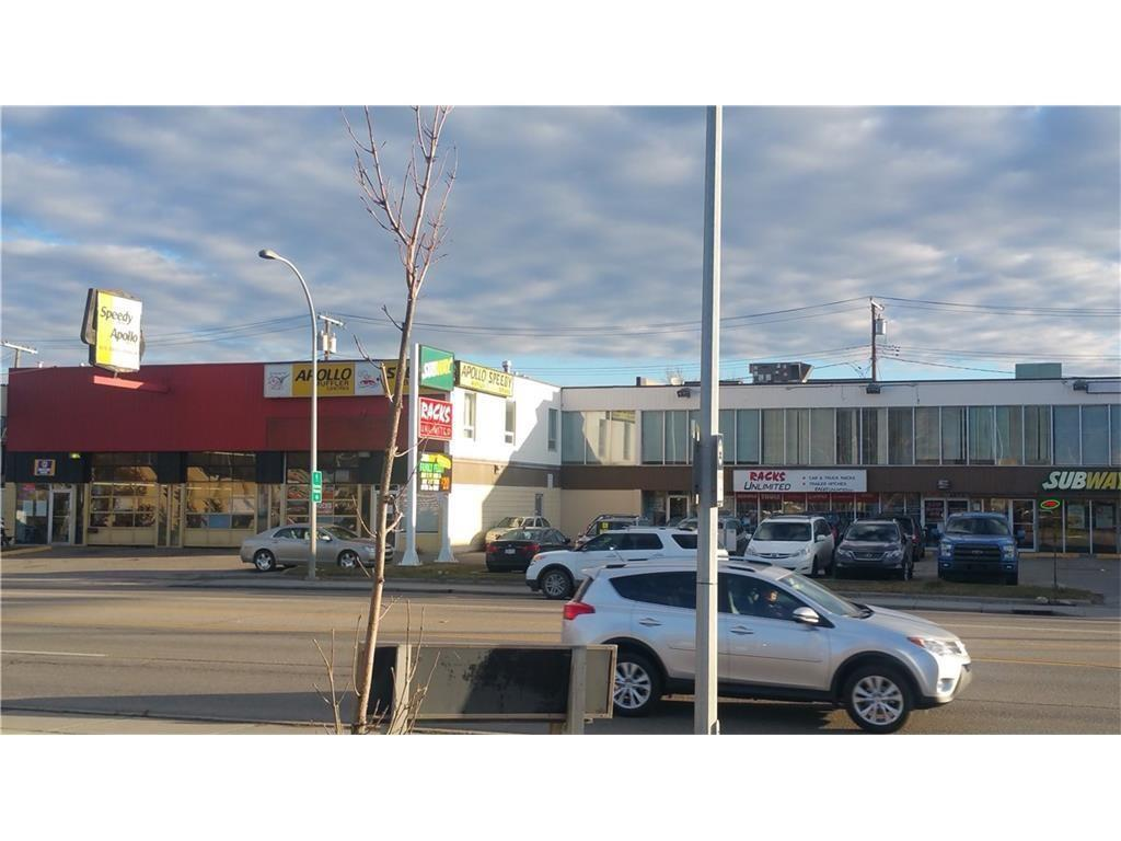Great location on Commercial Corridor District on 16th Ave NW. Close to COP, University of Calgary, Bow River, DT Calgary, and Sarcee TR. Many restaurants, coffee shops, parks, and amenities are nearby. Unit 201(1,966 sq.ft) fits for church and more. Unit 202(968 sq.ft), Unit 203(969 sq.ft), Unit 204(904 sq.ft), total continuous size is 4,807 sq.ft fit for accounting office, financial services, or insurance services. Operating cost is $5/sq.ft. Assigned parking is available.