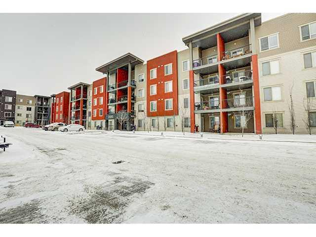 BRIGHT, CLEAN, AND SPACIOUS 2 BEDROOM PLUS DEN CONDO IN THE HEART OF AIRDRIE! GRANITE THROUGHOUT, STAINLESS STEEL, NEUTRAL COLORS, UPGRADED OVERSIZED SHOWER IN THE ENSUITE! Two good sized bedrooms, a LARGE LIVING ROOM, and an extra space for a den/office, or even a nursery or storage.  In-suite laundry - FULL SIZED WASER & DRYER INCLUDED.  LARGE PRIVATE PATIO, UNDERGROUND PARKING!  WALKING DISTANCE TO RESTAURANTS, SHOPS, PUBLIC TRANSPORTATION, PARKS, PATHWAYS!  LOW CONDO FEES! Come and see this great home today!