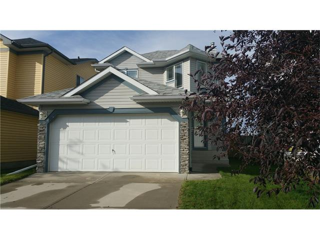 This 2 storey is located on a quiet street. The main floor offers a very spacious great room that has access to the deck/large yard, the main also offers a good size kitchen with island & a nook. The upper level offers a 4pc bath, 3 good size bedrooms and the master bedroom offers a walk in closet & full en suite. The lower level is awaiting your ideas. The home offers neutral colors throughout and is close to bus, shopping, schools, green spaces and easy access to Stoney Trail. Click on multimedia to view virtual tour and more photos.