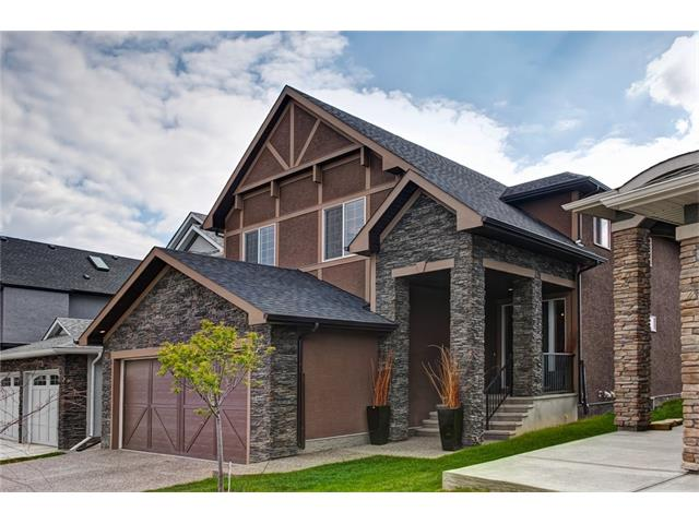 """If you're looking for something truly special, then you just found it! Beautiful Outdoor Living Space and nature right out your back door. River & Mtn Views! Huge Garage 22x30(You could fit a 3rd car in likely)! 5 Bdrms, Absolutely Stunning. Exceptional lot. Huge 600+ sqft deck, Hrdwd, Tile, upgr. carpet, 2 Sided stone F/P inside, Upgraded everything. Large main floor den, dedicated Laundry Rm w/built-ins & TV wiring, Huge Nook, Huge Windows with up/down silhouette coverings. The kitchen boasts SS Fridge, built in Wall/microwave oven & microwave, 36"""" glass cooktop, full height cabinets, dark stained Island and Quartz tops, soft close doors and drawers, under cabinet lighting huge island with Ice Crystal Granite. Speakers throughout, TV's in all the right places, 8' Doors, drop beam detail in great room, Huge Bonus Room w/sound /Speakers and drop beam ceiling detail reserved for but the finest estates."""