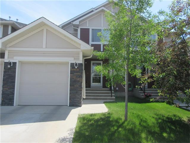 No condo Fees! Beautiful family living in this attractive upgraded home with 3 bedrooms and 2.5 baths. You'll love the sunny south backyard with a deck and covered gazebo from the dining room. Hardwood floors through out the main level with a spacious tile entrance. There is also a small den on the main level as a perfect communications centre or playroom. The kitchen features stainless steel appliances, an island, and spacious corner pantry. Note the transom window in the living room bringing in morning light! Upstairs the master bedroom features a walk-in closet and 4 pc ensuite. The second and third bedrooms share a jack and jill bathroom. The attached garage is drywalled and insulatedand features a door to the house as well as to the backyard. Walking distance to the local pub & coffee shops, grocery, bank and more! Close to schools, bus & community centre, and South Region Hospital. This is a lovely property that shows very well!