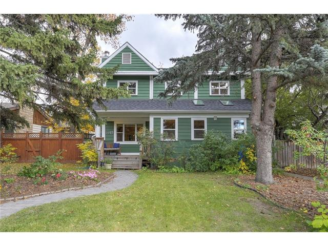 Fabulous curb appeal, a quiet cul-de-sac location, private 55'x120' lot, recent rezoning approvals for a secondary suite, plus easy access to schools, parks, shops & the Core, this thoughtfully remodeled 2-storey has it all! Lovingly cared for, this home immediately welcomes you in with its open floorplan, abundance of natural light, beautiful site finished hardwood flooring, wood burning fireplace & custom built-ins throughout.  Featuring a warm & inviting family room, large adjoining dining room with garden doors out to the oversized deck, a private den/home office & the amazing kitchen, complete with gas stove, vaulted ceilings, double skylights, and tons of counter & cabinet space. There are a total of 4 spacious bedrooms, 3.5 bathrooms, plus fully developed basement and plenty of additional storage space.  The private rear yard is amazing, offering an abundance of space for outdoor entertaining, relaxing in a hammock or lounge chair and the kids to enjoy playtime in their very own treehouse.