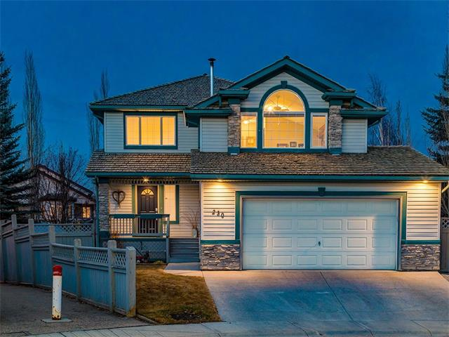 """BEAUTIFUL 3030 Sq Ft Developed Living space in this Great family home on a PARK-LIKE HUGE 759 sq mt PIE SHAPED lot in a QUIET CUL-DE-SAC in SOUGHT AFTER McKenzie Lake w/BREATH TAKING MOUNTAIN VIEWS! HEATED 23'5"""" x 23'4"""" GARAGE w/Sink + RV PARKING, CEILING SPEAKERS, ALARM SYSTEM, CENTRAL VAC system, HUMIDIFIER, VAULTED CEILINGS + more! The WELCOMING porch leads into the SPACIOUS main floor w/foyer w/closet, FORMAL dining rm, BIG MUD rm area w/WALK-IN closet, half bath + laundry. LARGE OPEN PLAN living area w/CORNER GAS FIREPLACE, bfast nook w/door to the back DECK + YARD, + GORGEOUS WHITE kitchen w/CORNER PANTRY + STAINLESS STEEL appliances! Upstairs is a BIG BONUS rm w/PELLET BURNING WOOD STOVE + MOUNTAIN VIEWS, 4 pce bathroom + 3 GOOD SIZED bedrooms inc the Master Suite w/WALK-IN closet + corner JACUZZI TUB! The basement is FULLY FINISHED w/a 4th bedroom, HUGE REC RM area, PLENTY of STORAGE space! The STUNNING + HUGE YARD has MATURE TREES, 2 TIER DECK, PATIO, FIRE PIT AREA, HOT TUB + STORAGE SHED! WOW"""