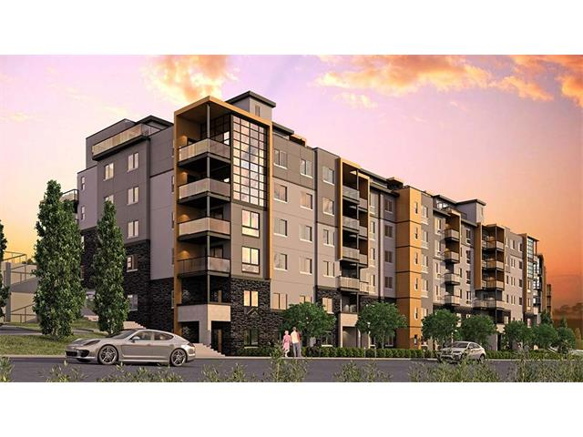 AMAZING Opportunity to buy early Concrete and steel construction 8-story mid-rise in the suburbs with Panoramic views from the hilltop site. This one-of-a-kind urban village complex offers the ultimate in quiet and comfort in a modern living space, concrete walls and floors separating units, with high-end specs including standard granite countertops and stainless steel appliances, stunning views, all in a master planned urban village setting.Walking distance to bus transit hub and a new shopping mall. Easy access to major transportation arteries such as Stoney Trail, Shaganappi Trail and and Beddington Trail.