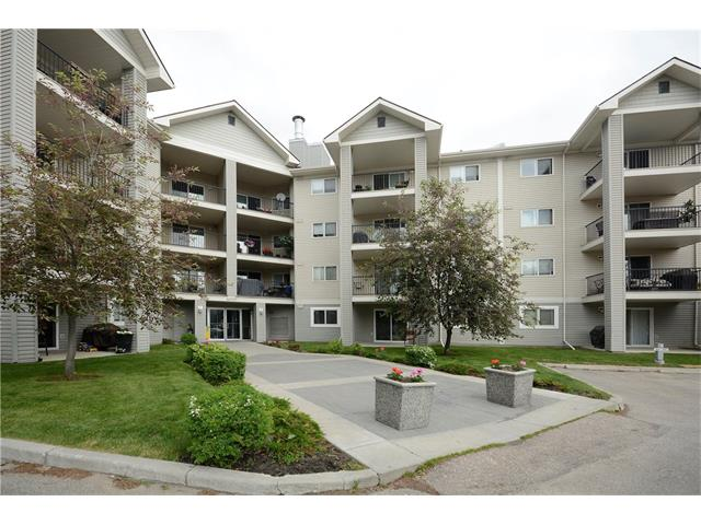 Home ownership can now be a reality. This 2 bedroom condo is located on the second floor and faces west, providing both security and privacy. Open concept throughout makes it perfect for entertaining with the kitchen looking right out to the living and dining areas. Enjoy a summer BBQ on the deck. Both bedrooms are generous in size with the full bathroom and dedicated laundry room being right in the middle. This condo includes all 5 appliances and all utilities are covered in the condo fees. Assigned parking stall also included. Steps to all shopping, restaurants, and shops at South Trail Crossing.