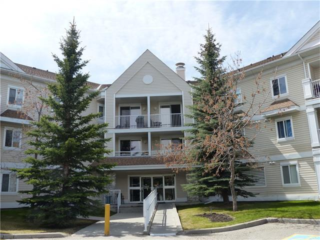 THERE ARE ONLY A FEW UNITS available AT THIS PRICE in the south with 2 bedrooms, 2 bathrooms and a DEN, plus a nice-sized Living/Dining room - open floor plan and one underground parking stall PLUS your own in suite laundry and storage in the suite.  This is a great complex with only two buildings -  quite private, close to shopping, golf, the Bow River parkway and Fish Creek park and easy access off to both 22X (Stoney Trail) or to Macleod Trail.  Don't miss out.