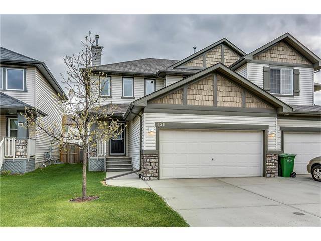 A great opportunity to own this wonderful 2 storey home with A/C, 3 bedrooms, 2.5 baths and an insulated double attached garage on a quiet street in Chestermere! The bright and spacious main floor features an open concept and highlights include light oak kitchen cabinetry, black appliances, modern kitchen tile back splash, walk-in pantry,  raised eating bar, large dining area open to the living room and main floor laundry with LG front loaders. Upstairs there is a common 4 piece bathroom and three bedrooms including the master which features a large walk-in closet and a 4 piece en-suite with deep soaker tub and separate shower. The lower level is partially finished and awaits your creative touch with included building materials already in the basement. Enjoy the southern exposure this summer in the fully fenced and landscaped back yard on the 20? x 20? back deck. Located close to schools, parks and shops makes this a great place to call home for you and the family. Call to view today!