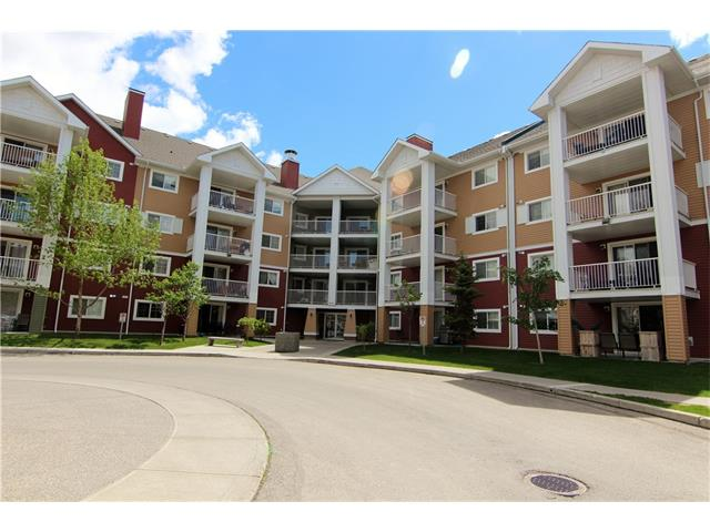 Aug 13/17: This unit just underwent a deep deep cleaning & was Professionally De-Odorized. With the Brand New Carpet & underlay installed Jul 24th, this unit is ready for a new owner. Two Bedroom, 2 Bath ground floor unit with concrete patio on private green treed strip, east facing, away from the parking lot. Very nice open plan; great room with a corner gas fireplace & ceiling fan, kitchen with maple cabinets, black appliances & bedrooms on each side of the open living space. Double doors lead to the ground level patio. Insuite stacked washer/dryer & storage in the unit. One titled indoor underground parking stall. Pets with board approval. McKenzie Towne offers public & separate elementary schools, an abundance of play parks, a new Spray Park, paved walking paths, a Firehall, churches, High Street with a variety of restaurants, shops, & businesses, a dentist, optometrist, dance studio, liquor store, floral shop, & so much more. There is also a BRT in McKenzie Towne, check it out today!