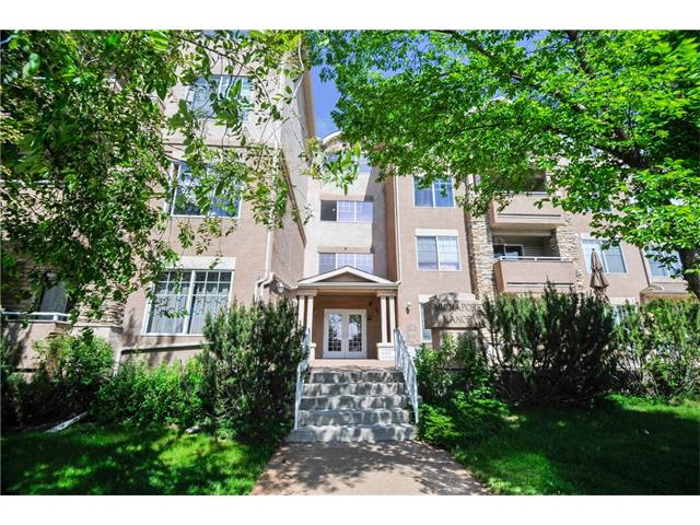 Rare 2 Bedroom GEM, in a beautiful, well- maintained building and with LAKE ACCESS! Perfectly situated in SOUGHT AFTER MIDNAPORE! Transit access from the front door and walking distance to SHOPS and services so you have access to everything!  This lovely south-east CORNER UNIT condo has space galore, TWO OVERSIZED BEDROOMS for you to enjoy, walk thru closet, and a large living room with FIREPLACE. The neutral tones and NEW CARPET and low condo fees add extra VALUE! The sunlight patio feels like a private garden with mature greenery is a perfect place to relax on those summer evenings. HEATED PARKING means no more scraping off snow either! This home will truly provide the LIFESTYLE you are looking for in this community that has so much to love. Move in ready and at an EXCELLENT PRICE, add this one to your list! IT IS A MUST SEE!