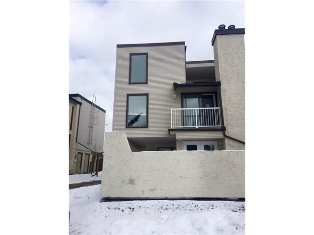 Tons of potential!! Large 2 bedroom end-unit townhouse with just steps away from Fish Creek Provincial Park! Nice open living area with wood burning fireplace, vaulted ceilings and dining area. Enjoy the west facing balcony in a park like setting. The kitchen has been upgraded with Stone counter tops, refinished cabinets and Stainless Steel appliances(AS IS). Large storage and in-suite laundry room. Upper area has a large master bedroom with a private west balcony and ample closet space, plus a second bedroom and 5 piece bathroom with dual sinks and newer tiling. One assigned parking stall comes with the unit, Great location within walking distance to schools, buses & Canyon Meadows LRT Station, shopping and has great access Major roads!