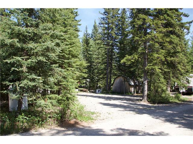 Own your own campsite! Lot 47. This beautiful gem of a site on a creek is only steps from the Red Deer River in Sundre.  30 Amp electricity and seasonal Town water and sewer on the site. It  has a gravel parking area, lots of trees, and a secluded area by the year-round creek.  Includes storage shed.  Riverside RV Village is seasonal recreational park with clubhouse, washrooms, and laundry facilities, and a playground.  Hike along the river or take an easy stroll to get groceries or supper in one of the many restaurants only a few blocks away.