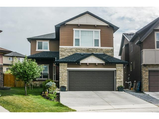 **OPEN HOUSE SUNDAY August 13 2-4**A rare find in Panorama Hills, this 3,074 sqft custom built home, situated on a pie lot, boasts 4+2 bedrooms and a builder developed basement, providing over 4,100 sqft of fully upgraded living space. The main floor 10ft ceilings & open concept design invite a fabulous space for entertaining, with a gourmet chef's kitchen including two full ovens, a huge walk though pantry, under cabinet lighting & oversized granite island. The main floor also includes a home office with French doors & a spacious mud room with built in bench. Unwind upstairs in a huge master retreat, with a walk in closet and a luxury ensuite featuring a rain shower, dual sinks & a built in vanity. 3 more generous bedrooms, laundry room & a large bonus room with 9' ceilings provide plenty of space for the family. The fully developed basement includes two additional bedrooms, a full bath, large rec room and media/living area & wet bar. This beautifully appointed, fully air-conditioned home is a must-see!