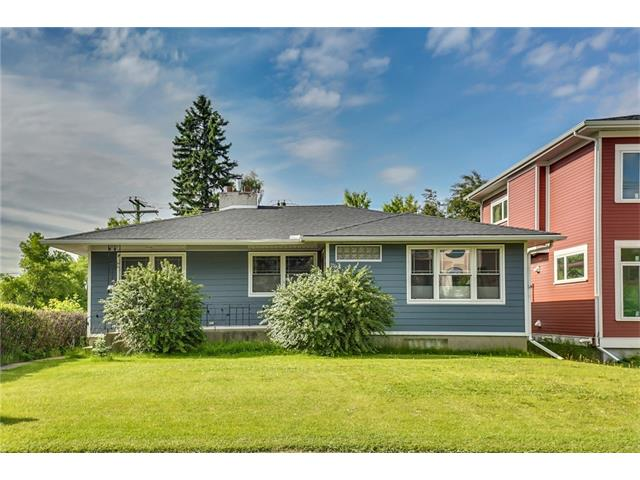 Move in for the summer + the start of the next school year at Elboya (k-9).  This is a lovely 3 + 1 bedroom bungalow right across from the school + with loads of renovations both inside + out.  Newer siding, roof, hot water tank + deck.  Newer windows, tile flooring in kitchen,  fully renovated main floor bath  + freshly painted main floor.  Excellent layout with very spacious rooms including living room with gas fireplace, informal dining room off kitchen, large kitchen with loads of cabinetry + stainless steel appliances.  The lower level offers a family room, flex room, full freshly painted bath,  laundry room + has newer laminate flooring.  Fabulous sunny backyard with large cedar deck, mature trees + south sun.  Located in a popular neighborhood with loads of kids, parks, Sunterra Market nearby, Calgary Golf + Country Club , Chinook Center , Rockyview Hospital + downtown.