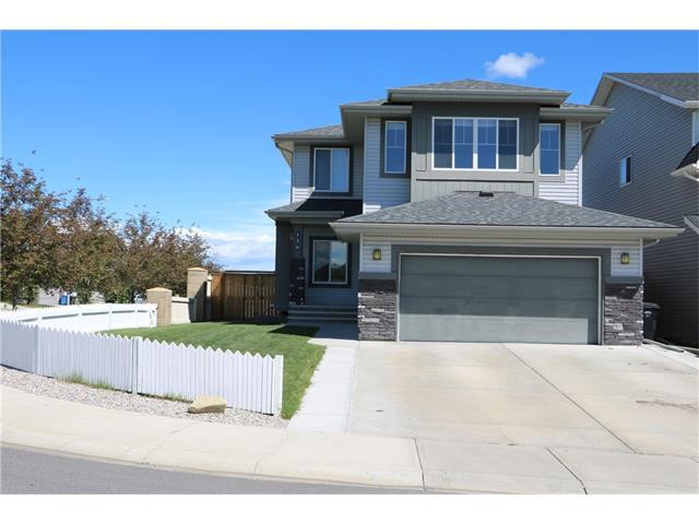 Watch your kids & pets play from this beautiful & well kept huge family home (over 2,700 sq ft developed!) & located on a corner lot across from a large green space & playground. This home comes w/ 5 bedrooms (the master bedroom w/ a walk-in closet & a 5 piece en-suite which has a separate shower stall, soaker tub & enclosed toilet), 3.5 baths & a fully finished basement. Other features of this home include upper bonus & laundry rooms, main floor office, great room w/ gas fireplace w/ upgraded mantle & hearth which overlooks the breakfast nook & gourmet kitchen w/ upgraded appliances, granite counter tops, walk-through pantry & center island. The main floor also features the guest bath & doors to a maintenance-free deck made of composite material. The finished basement has a rec room, 2 bedrooms, office/craft room & a full bath. This home is priced to sell so act fast & don't miss out.