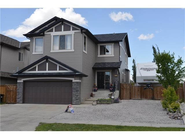 A Must to View...This BEAUTIFULLY finished home W/OVER 2200 sq ft of living space! WELCOME into the foyer, 2 pce bathroom + GOOD sized laundry/mudroom  + OFFICE  + FRENCH DOORS! OPEN CONCEPT kitchen is STUNNING maple cabinetry, walk thru pantry, GRANITE counter tops, Stainless steel appliances, Tile and cork flooring through the main level 1 of 2 gas fireplaces with heat reflecting glass...+ BEAUTIFUL Maple SPINDLE staircase!  Upstairs is a LARGE BONUS RM w/vaulted ceiling + 2nd FIREPLACE...GORGEOUS master suite w/4 pce ensuite W/JACUZZI TUB, Water closet + WALK-IN CLOSET!! 2 GOOD sized bedrooms + BEAUTIFUL 4 pce bathroom complete the upper + large basement awaits your finishing touches! The huge Backyard features AMAZING 2-TIER DECK, perfect for entertaining or relaxing while enjoying the WEST evening sunshine... SIMPLY FANTASTIC PROPERTY!  Don't forget the RV parking room for a 40 ft long RV..REDUCED  BRING OFFERS