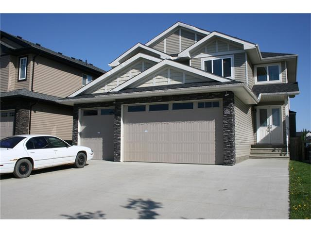 Unbeatable Value in Beaumont priced reduced!!!The time is right to move into this Custom Built home featuring great views of the pond and close to New School, Fitness Centre, Off Leash Park and pathways of Beaumont. Quick possession available on this 2942 sq.ft. 2 story, 5BDR + Den that can be converted to a 5th Bdrm, 3 1/2 bath family home. Check out the triple front finished and heated garage, huge driveway, double front doors into a grand entry way featuring granite tile. Massive Custom Kitchen with High end appliances Bosch, Jenn-Air, main floor laundry, Den and formal Dining room. Large family playroom on 2nd floor, 4 Bdrms on 2nd floor with Jack and Jill bath as well as another full bath on this floor. Large master Bdrm with en suite, walk in closet, sitting room and walk out deck to view the pond. Amazing number of extras inside and out a must to see. So much more to offer this one will not last. Owner is relocating so this is your time!