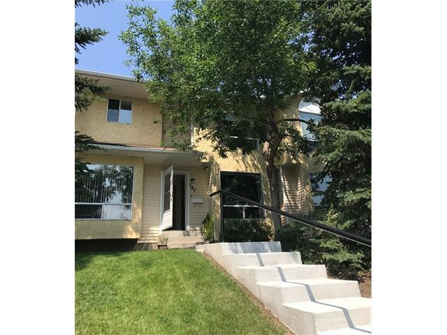 ** INVESTOR ALERT to BUY NOW Before new Mortgage Rules Change **NO CONDO FEES for six months***REDUCED over $35,000*** This Spacious 3 Bed Townhome is in Immaculate, Move-In Condition and has been Tenderly Cared for by Current Owner.   Main Level comprises Living Room, Kitchen, Dining Area and 2 Piece Bathroom.  Upper Level comprises Master Bedroom, 2 other good sized Bedrooms, 4 Piece Bathroom and Linen Closet.  Lower Level is Fully Finished and comprises Huge Family Room and Storage/Furnace/Laundry Room.  Sunny East Facing backyard with Raised Deck and Fully Fenced Yard.  Newer Furnace, Hot Water Tank, Shingles, Windows and Fence.  Assigned Parking Stall and Visitor Parking plus ample Street parking.  Parking Stall conveniently situated right outside back door.  Easy walking distance to Shops, Schools, Playgrounds and Sikome Lake/Fish Creek Provincial Park.  Located close to Deerfoot/ Stoney Trail/Ring Road. This Home has been Professionally Measured to RMS Standards.