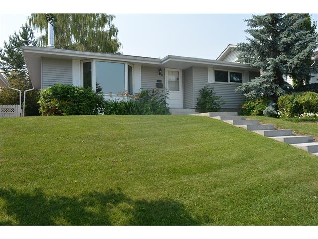 OPEN HOUSE SAT JULY 22 1-3PM. Excellent location! Close to Shaganappi Plaza and a number of schools in the area. Walking distance to Brentwood C-train. This bungalow offers a seperate basement suite (illegal) and lovely private south backyard with a deck, concrete patio, new beautiful landscaping, and large double detached garage (currently rented). Upgrades include: hardwood floors, furnace and hot water tank, roof on house and garage; electrical panel with wired fire protection; food disposal unit, concrete steps and sidewalk. Property offers a number of options: live in, live up/rent down, or investment property. Owner was recently generating $2395/mth in 2017. Wonderful opportunity to own a property in a desirable community!