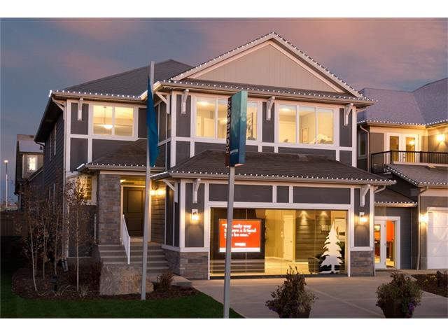 Welcome to this stunning 2740sq.ft Estate Home in the heart of Mahogany one of Calgary most sought after communities. As you walk in the front door you will find the beautiful grand staircase and large open foyer. Walking down the hall you will notice a large flex room perfect for a home office and just past that you will enter the open concept dining, kitchen living area. The gourmet kitchen features custom cabinets, large island with Quartz counter-tops and stainless steel appliances. Upstairs you will find 2 large spare bedrooms, upper floor laundry, bonus room with a open to below view and a luxurious master retreat. The master retreat is highlighted by a large 5 piece spa inspired en-suite complete with dual vanities, soaker tub and separate shower. This home is completed by a large deck and full landscaping. Call today to view this amazing property.