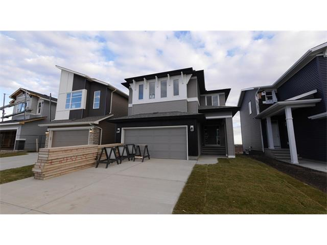 Great community, Great Home - 3 bedrooms - BRAND NEW - 'Everett' built by Morrison Homes! Stunning craftsmanship inside this 2,554 sqft marvel! Very tasteful dark Hardwood throughout the den and living room (gas fireplace) matching the classy kitchen and entry tile, thick carpeting upstairs with awesome wide and bright windows throughout the home. Gourmet Kitchen (Monster granite island, beautiful cabinets, space galore in your pantry across from a tech center ) Spacious entry, 2pc bathroom and walkthrough mudroom round out the main floor. Ample room and amazing layout upstairs. 3 bedrooms, separate laundry room and bonus room gives everyone lots of space. The master ensuite with custom stand up shower, super soaker tub is a sight to behold!  Unfinished basement and feel free use Morrison's Complimentary lawyer upon purchase.