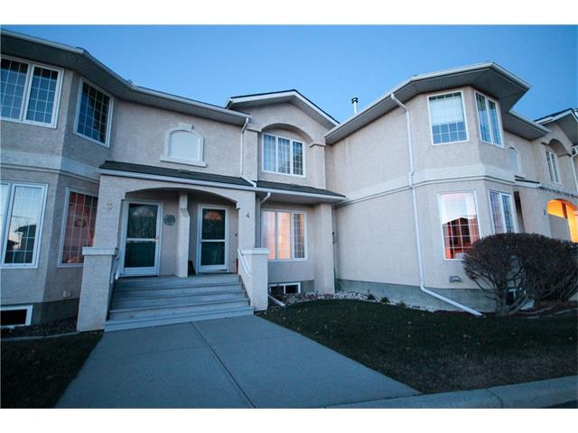 Great Location ! Walk to shopping , restaurants , Professional services, easy access to anywhere in COCHRANE . YOU CAN BUILD A HOME ANYWHERE BUT YOU CANT BUILD LOCATION . THIS , Completely finished 2 storey Townhouse Shows pride of ownership.The Main Level has a 2 piece Bathroom and Hardwood Floors.  Bright Sunny Living Room with a Gas Fireplace . Large Kitchen with a Centre Island,  Eating nook , And a Great Deck for the BBQ enthusiast. Where you can Enjoy a Green space with mature trees . The Upper Level also offers 3 Bedrooms a 4 piece Bathroom . The Basement is finished with a Wet Bar , Storage Room, Utility Room, A Roughed in Bathroom , Central Vac , Washer , Dryer . 