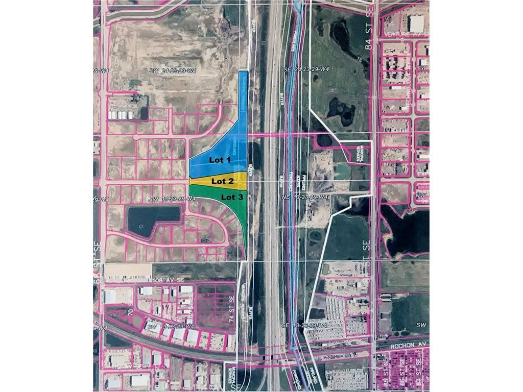 23.77 acres. Prime Industrial Land. Next to Stony Trail. Great visibility, city services available. Paved access. Call Realtor for detailed information. Additional 10.45 acres adjacent, also available.