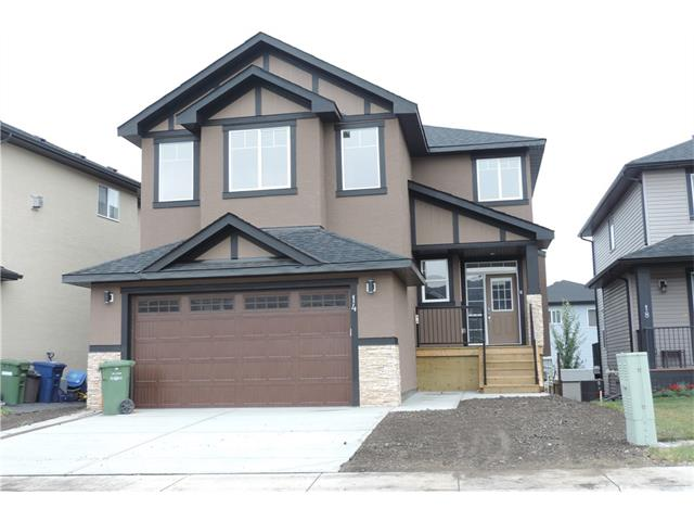 This wonderful 2 story, 4 bedroom home is ready for immediate possession. The main floor has engineered hardwood floors, quartz counter tops and stainless steel appliances. There is also a fabulous butler's pantry and a mud room. The living room has a gas fireplace and a built in wall unit. The large master bedroom has a 6 piece ensuite, which includes his and her sinks, separate shower, and a jetted tub. The basement is an unspoiled completely open area walk-out and awaits your imagination to completely make this house your castle. All landscaping to be completed with possession. GST is included in the sale price.