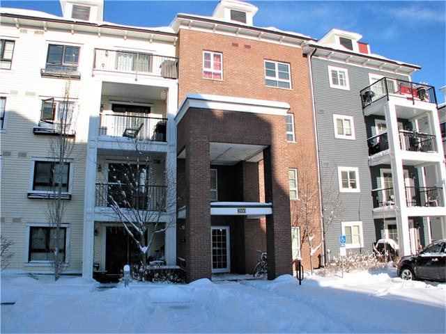 Outstanding location, TOP FLOOR CORNER unit walking distance to Copperfield commercial amenities as well as transit, a park, playground and green space. one neighbour below and only on neighbour beside. Open lifestyle area with a back kitchen, GRANITE counters and FULL APPLIANCE package, SOFT CLOSE drawers & pantry cabinet. Large walk in coat closet, side 4pc bath with a FULL SIZE STACKED LAUNDRY. Cheater door from the 4pc bath into the 2nd bedroom. WIDE PLANK LAMINATE floors in the main area with CENTRAL AIR and a balcony which provides amazing views. The master is to the right of the lifestyle area with a walk through closet and 3pc ensuite bath. The one UNDERGROUND HEATED PARKING stall with ADDED STORAGE in front is only steps to the elevator door. Total convenience, amazing location and value!