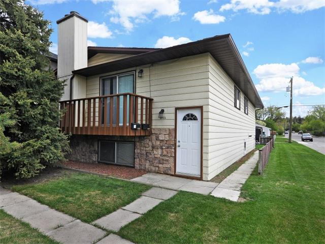 OPEN HOUSE SATURDAY NOVEMBER 18th from 2:00-4:00pm at 2402 3 Ave NW  Wonderful opportunity to live in West Hillhurst at a very reasonable price and lots of potential to subsidize your monthly costs. This substantially renovated 964 sqft main floor includes an open living room /dining room with a cozy corner fireplace with patio doors to a private deck and laminate flooring. Newer kitchen with black and stainless appliances and tile flooring. Updated 4 piece bath with adjoining laundry area. Three good size bedrooms including a king size master. The lower level includes a full 3 bedroom illegal suite with a separate kitchen and laundry. Easy walk to the river path system and quick access to downtown, U of C, SAIT, shopping, or a quick escape to the mountains.