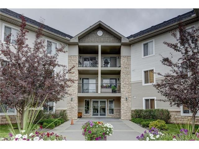 Don?t miss this bright and spacious west facing unit with an open concept in the popular southwest community of Evergreen. Highlights include laminate flooring throughout, kitchen featuring plenty of cabinets and counter space, large bedroom with an oversized walk-in closet, a four-piece common bathroom, in-suite front loading washer and dryer in the storage room and a large west facing balcony perfect for entertaining with a table of four. This unit also comes with the benefit of heated and secured underground parking and the low condo fees include heat, water and electricity! Located close to shops, restaurants, parks and quick access to the LRT and Stoney Trail makes this a great place to call home. Call to view today!