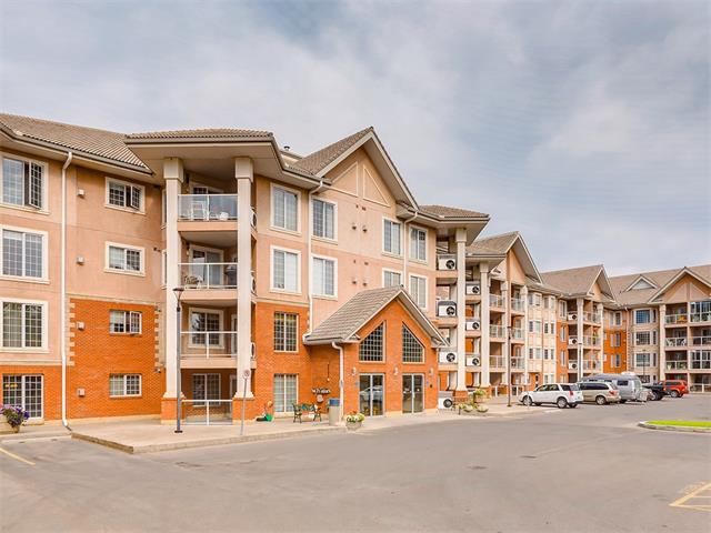 Welcome to The SIERRA'S OF HERITAGE. An extremely well managed adult condominium  featuring amenities such as a library , craft room, media room, party room, exercise room, wood working room, car wash, indoor pool, hot tub, billiards tables and a guest suite on each floor.  This beautiful 1 bedroom plus a den is move-in ready on the 3rd floor condo in a excellent location within the complex. Kitchen opens out to Spacious Living / dining room with a large east facing balcony complete with gas BBQ line.  All new upgraded hardwood flooring 
