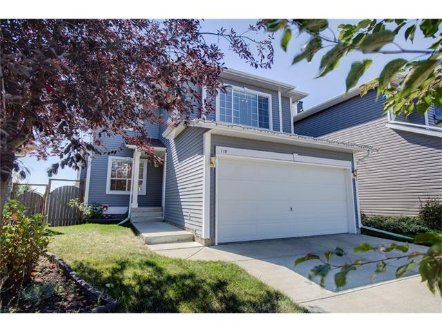 Don't miss this lovely 2 storey, walk out home in popular Bridlewood just minutes to elementary schools & close to all amenities. This home has been very well maintained & nicely upgraded throughout including newer roof. The main floor features a great room style floor plan with dining/flex room & beautiful newer hardwood. Kitchen upgrades include slate floors, SS appliances, newer cabinet hardware, granite counters & glass tile backsplash and has an island & corner pantry. Upstairs is an awesome vaulted bonus room with corner gas fireplace, hardwood & downtown views!  Spacious master bedroom with rural view & walk in closet plus ensuite featuring an oval bath tub. Two more large bedrooms complete the upper level. The fully finished walk out basement has a 3 piece bathroom, very large rec room, wet bar/cabinets & lots of storage. Double attached garage is insulated & drywalled. Relax in the treed, south facing back yard. Call your Realtor today to view this lovely home!